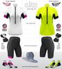 Aero Tech Women's Elite Cycling Jersey with matching bike shorts