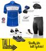 TALL Men's Aero Detour Sprint Jersey Kit Panel