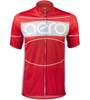 TALL Men's Aero Detour Sprint Jersey Red Front