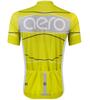 TALL Men's Aero Detour Sprint Jersey Yellow Back