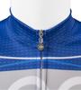 TALL Men's Aero Detour Sprint Jersey Royal Blue Front Zipper Detail