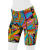 Aero Tech Women's Rio Hippie Print PADDED Bike Shorts