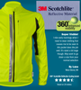High Visibility Reflective Full Zip SoftShell Cycling Jacket Review