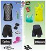 Women's Cycling Skort Kit Panel
