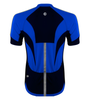 Men's High Vis Reflective Pace Cycling Jersey Royal Blue Back