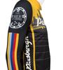 Aero Tech Sprint Long Sleeve Jersey - Pittsburgh Theme - Long Sleeve Bike Jersey - Made in USA