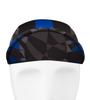 Aero Tech Mosaic Rush Cycling Caps in Royal Blue with Brim Up