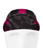 Aero Tech Mosaic Rush Cycling Caps in Pink with Brim Up