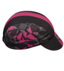 Aero Tech Mosaic Rush Cycling Caps in Pink Icon