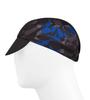 Aero Tech Mosaic Rush Cycling Caps in Royal Blue Side 1