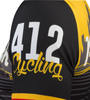 Pittsburgh Theme Sprint Bike Jersey Left Sleeve