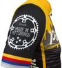 Pittsburgh Theme Sprint Bike Jersey Right Sleeve