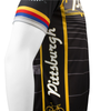 Pittsburgh Theme Sprint Bike Jersey Side Panel