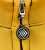 Pittsburgh Theme Sprint Bike Jersey Zipper Detail