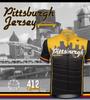 Pittsburgh Theme Sprint Bike Jersey Kit Panel
