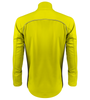 Safety Yellow cycling soft shell jacket