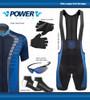 Aero Tech Men's Peloton Bib Shorts - Power Tread - Cycling Bib Shorts - Made In USA