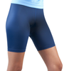 Navy blue compression fitness short