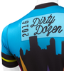 Aero Tech Sprint Jersey - Danny Chew's Dirty Dozen - Pittsburgh's Steep Hill Bike Race