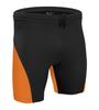 High Performance Compression Shorts Orange Front