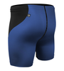High Performance Compression Shorts Navy Back