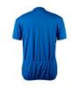 Big Men's Cycling Solid Jersey Royal Blue Back