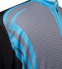 Big Size Men Sprint Cycling Jersey Aslan Front Detail