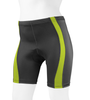 Women's Classic 2.0 Color Padded Bike Shorts Safety Yellow Front