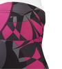 Aero Tech Women's Mosaic Empress Shorts Pink Graphic Detail
