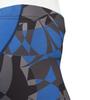 Aero Tech Women's Mosaic Empress Shorts Royal Blue Graphic Detail