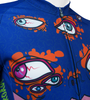 Aero Tech Peloton Long Sleeve Jersey - Eyes On The Road - Halloween Jersey  - Brushed Fleece