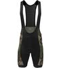 Aero Tech Men's Peloton Woodlands Camo Bib Shorts Front