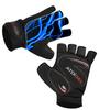 Aero Tech Wild Print Glove Blue Lightning