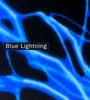 Blue Lightning Graphic Panel
