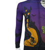 Aero Tech Sprint Long Sleeve Jersey - Spokey Rider - Halloween Bike Jersey - Brushed Fleece - Made in USA