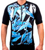 Aero Tech Men's Designer Coolmax Cycling Jersey - Xacto Blades