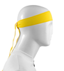 Aero Tech Headband Tie Sweatband Yellow