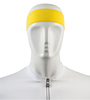 Aero Tech Headband Tie Sweatband Yellow Front View
