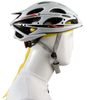 Aero Tech Headband Tie Sweatband Yellow Under Helmet View