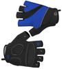 Tempo Fingerless Cycling Gloves Royal Blue