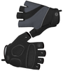 Tempo Fingerless Cycling Gloves Charcoal