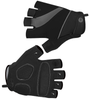 Tempo Fingerless Cycling Gloves Black