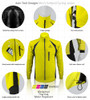 Aero Tech TALL Men's Thermal Softshell Jacket - Windproof and Breathable