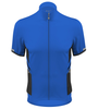 Aero Tech Elite Recumbent Bicycle Jersey in Royal Blue Front