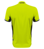 Aero Tech Elite Recumbent Bicycle Jersey in Safety Yellow Back
