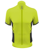 Aero Tech Elite Recumbent Bicycle Jersey in Safety Yellow Front