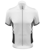Aero Tech Elite Recumbent Bicycle Jersey in White Front