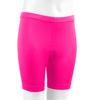 Youth padded Bike Shorts Pink Front
