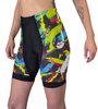 Women's Empress Hide a Rider Shorts has vivid colors and details