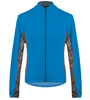 Aero Tech Men's Whistler Long Sleeve Fleece Cycling Jersey in Royal Blue